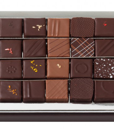 Coffret 36 chocolats assortis